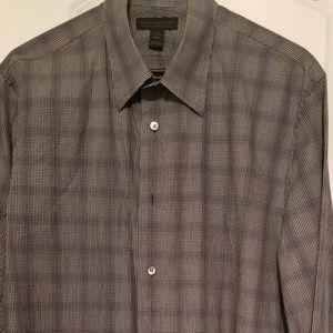 Express Men's Long Sleeve Button Up Shirt